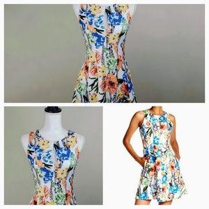 Catherine Malandrino Sleeveless Floral Dress